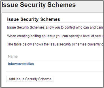 JIRA permissions and security - issue security schemes