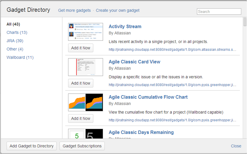 Step12 How to create a dashboard in Jira