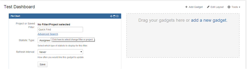 Step14 How to create a dashboard in Jira