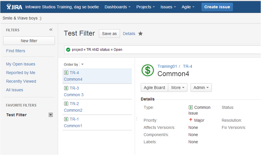 Step4 How to create a dashboard in Jira