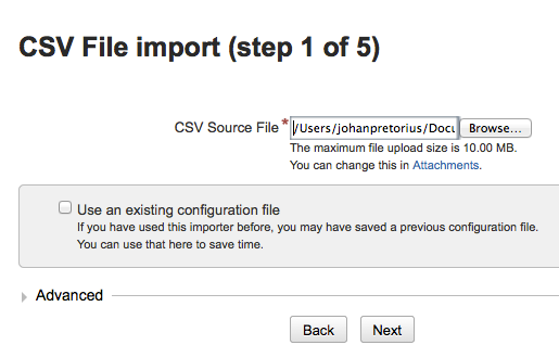 import CSV file into JIRA_1_of_5