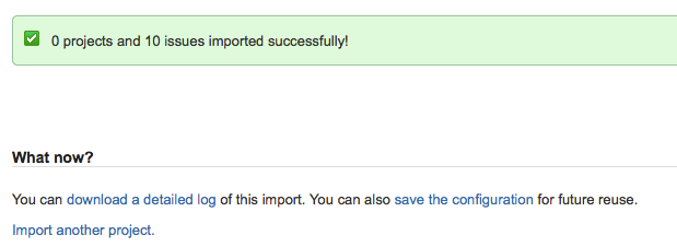 import CSV file into JIRA completed