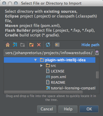 How to import a jira plugin project in intellji idea - 01