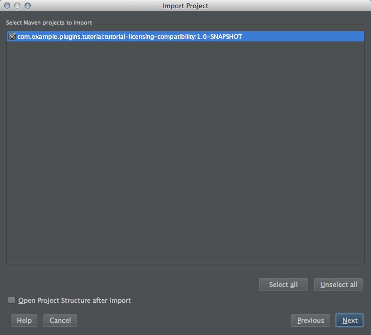 How to import a jira plugin project in intellji idea - 06