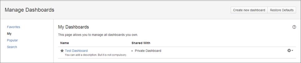 Step10 How to create a dashboard in Jira