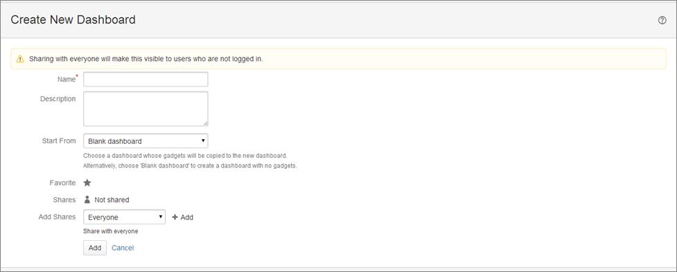 Step7 How to create a dashboard in Jira